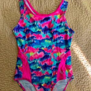 Justice Girls Swimsuit Racerback